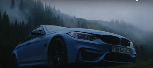 580PS Evotech BMW M3 F80 Yas Marina Blau Tuning Video: 580PS BMW M3 F80 in Yas Marina Blau im Test