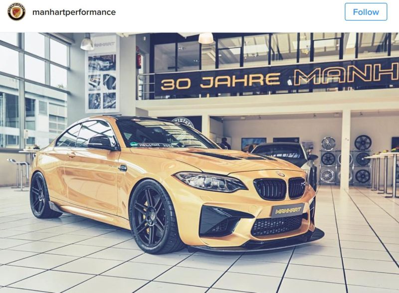 630PS Tuning BMW M2 F87 MH2 Manhart Performance (3)