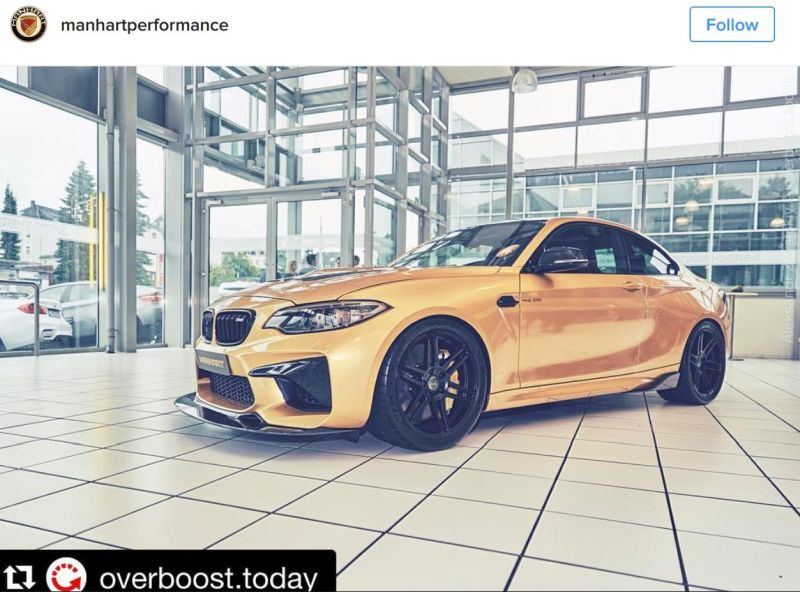 630PS Tuning BMW M2 F87 MH2 Manhart Performance (4)