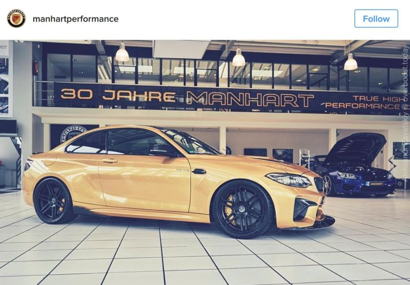 630PS Tuning BMW M2 F87 MH2 Manhart Performance (8)