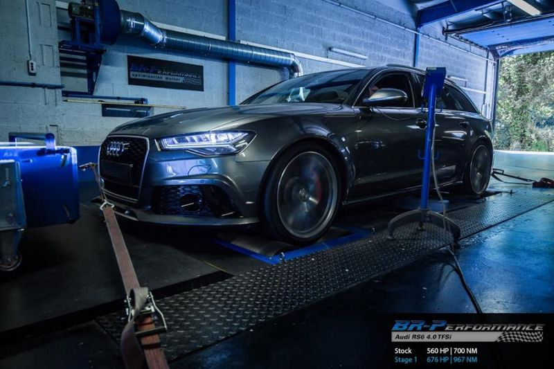 676PS 967NM BR Performance Audi RS6 C7 Avant Chiptuning 1 676PS & 967NM im BR Performance Audi RS6 C7 Avant