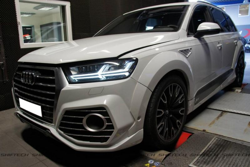 ABT Sportsline Audi Q7 3.0tdi 4M 303PS 659NM Chiptuning Shiftech 1 ABT Sportsline Audi Q7 3.0tdi mit 303PS & 659NM by Shiftech