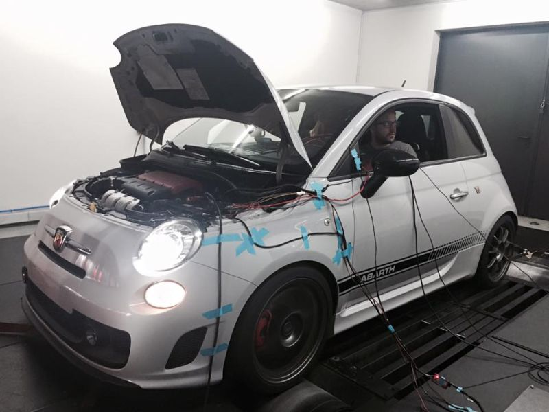 Abart Fiat 500 255PS Pogea Racing Chiptuning 1 Dezent gesteigert   Abart Fiat 500 mit 255PS by Pogea Racing