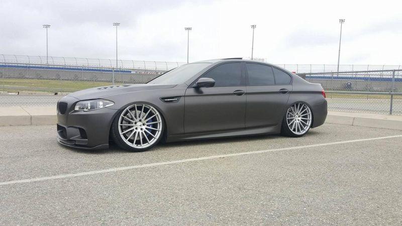Accuair Airride Fahrwerk BMW M5 F10 Tuning Boden AutoHaus 1 Brutal   Airride Fahrwerk im BMW M5 F10 von Boden AutoHaus