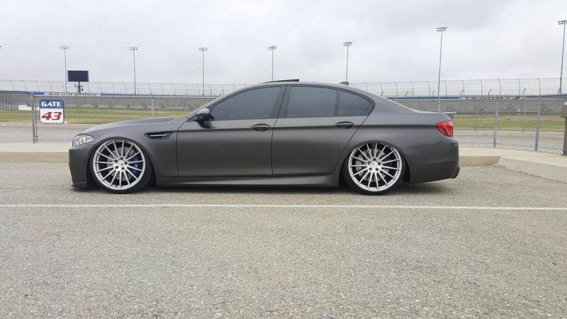 Accuair Airride Fahrwerk BMW M5 F10 Tuning Boden AutoHaus 3 Brutal   Airride Fahrwerk im BMW M5 F10 von Boden AutoHaus
