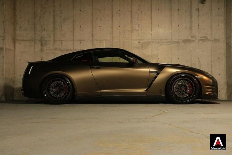Advance Eight Nissan GT-R HRE Classic 300 Tuning (4)