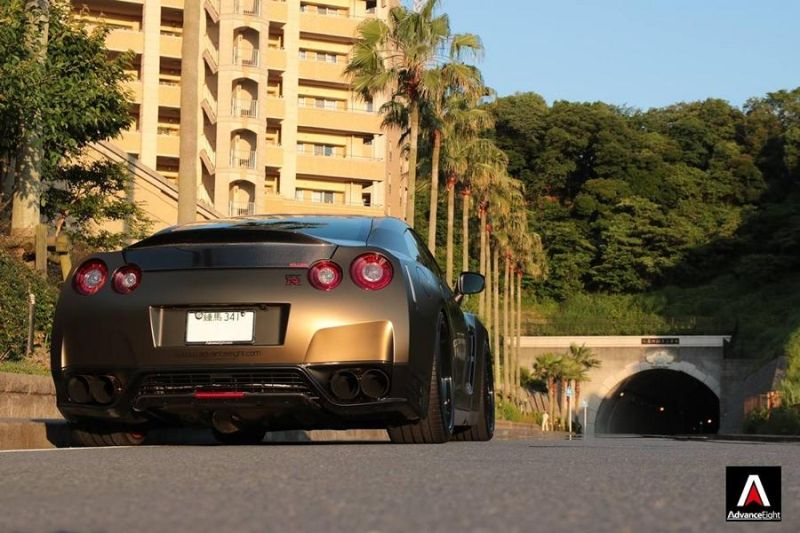 Advance Eight Nissan GT-R HRE Classic 300 Tuning (8)