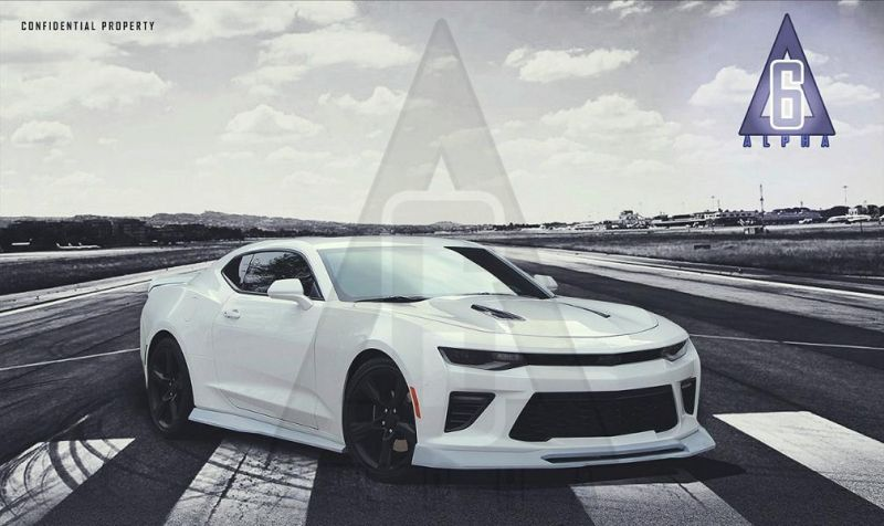 Alpha Six Designs Bodykit 2016 Chevrolet Camaro Tuning 1 Alpha Six Designs Bodykit für den Chevrolet Camaro