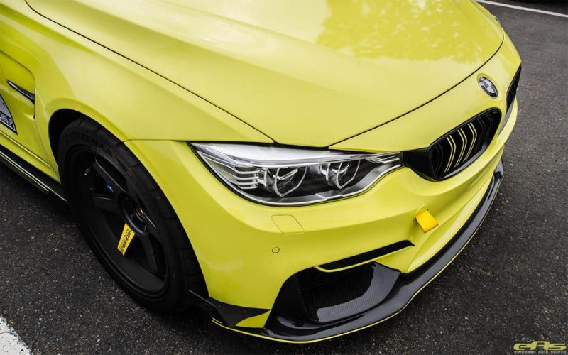 Ambulance Yellow BMW M3 F80 EAS Tuning (2)