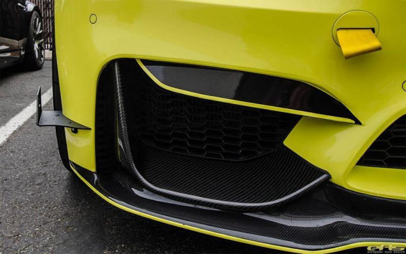 Ambulance Yellow BMW M3 F80 EAS Tuning (3)