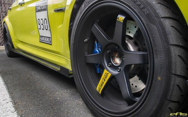 Ambulance Yellow BMW M3 F80 EAS Tuning (5)