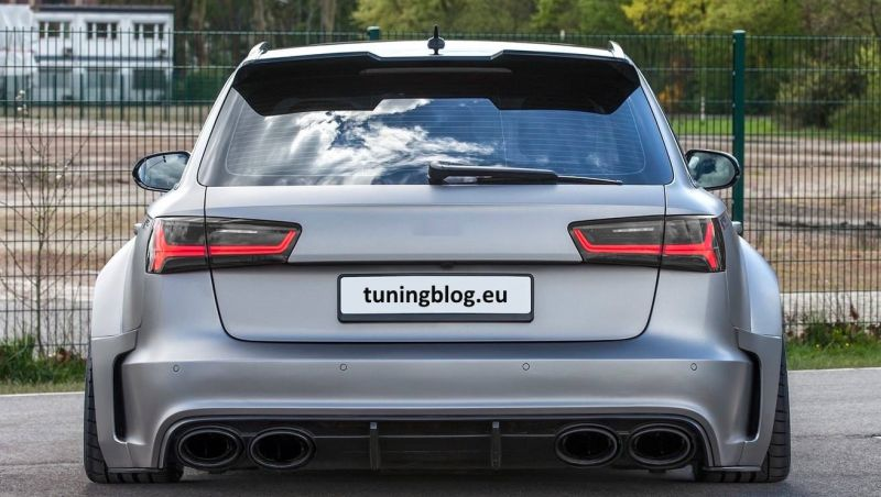 Audi A6 Avant with Prior Design PD600R Widebody 17 2 1 Fett   Widebody Audi RS6 C7 Avant by tuningblog.eu