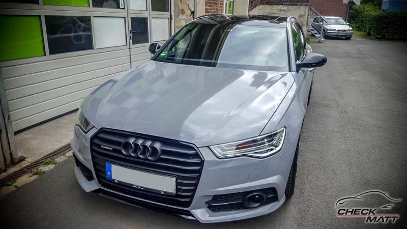 Audi A6 C7 Avant in Nardo Grau by Check Matt Dortmund