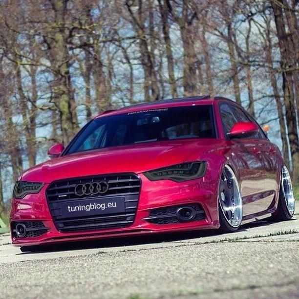 Audi A6 C7 Avant tuningblog.eu Red Audi A6 C7 Avant mit FlipFlop Farbwechsel by tuningblog.eu
