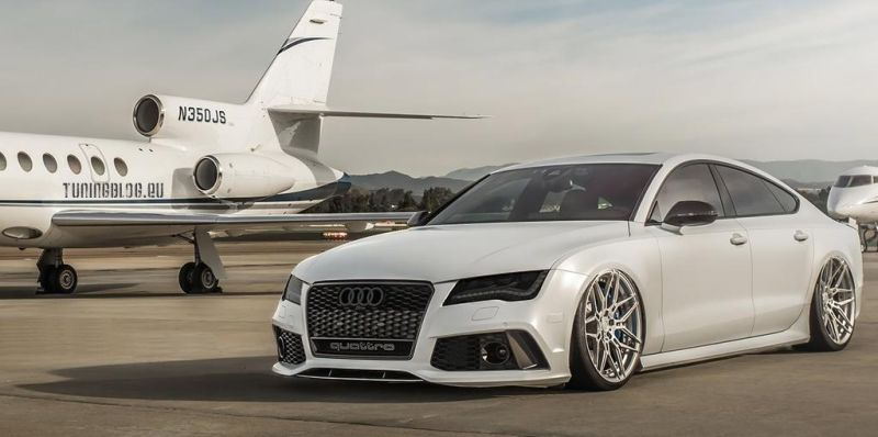 Audi A7 RS7 Adv.1 Wheels tuningblog.eu 1 Tiefer Audi A7 RS7 auf Adv.1 Wheels Alu's by tuningblog.eu