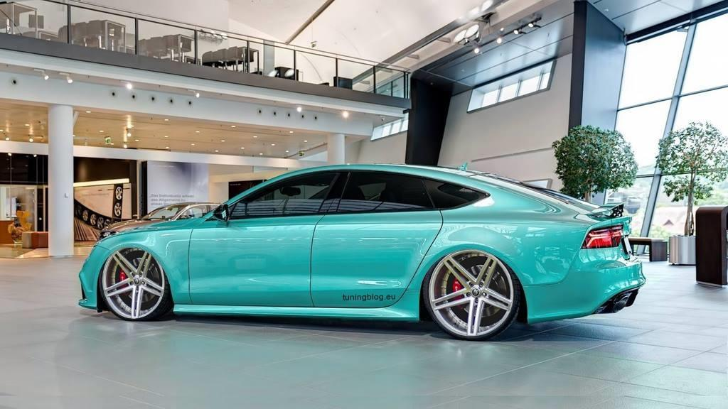 Audi A7 Rs7 Sportback With Lowering And Refurbish