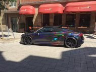 Audi R8 Spyder Holographic Folierung Tuning Check Matt Dortmund 1 190x143 Check Matt Dortmund   Audi R8 Spyder mit Holographic Folierung