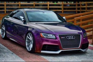 Audi Rs5 Coupe Mit Flipflop Lackierung By Tuningblog Eu