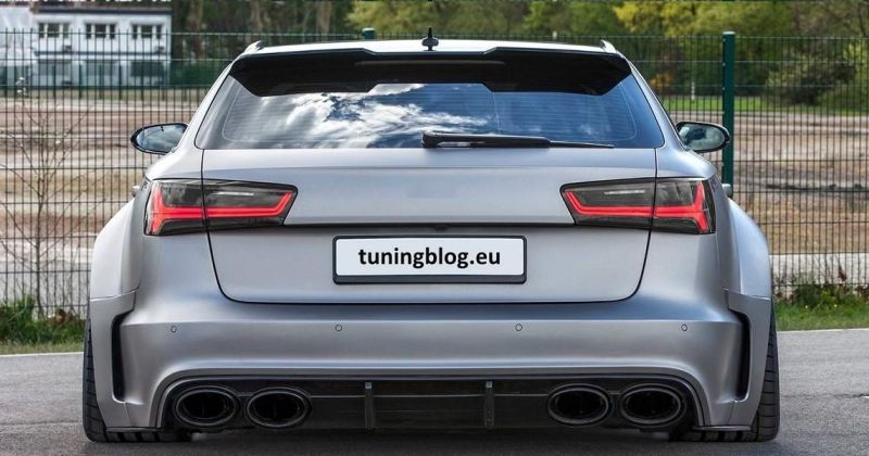 Audi RS6 C7 Avant Prior Widebody tuningblog.eu  Fett   Widebody Audi RS6 C7 Avant by tuningblog.eu