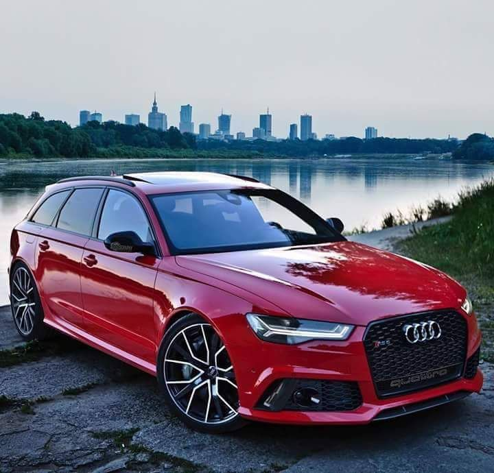 Audi RS6 C7 Avant Red rot tuning Wrap Audi RS6 C7 Avant Farbwechsel Lackierung by tuningblog.eu