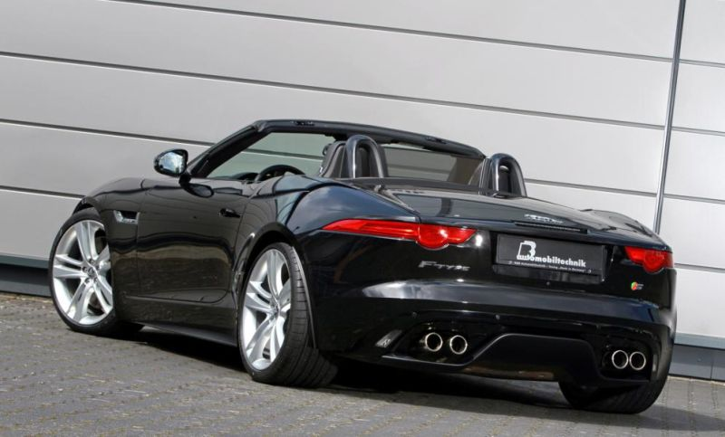 b b chiptuning jaguar f type cabrio svr 7 magazin. Black Bedroom Furniture Sets. Home Design Ideas