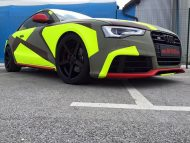 BB Folien Bele Bo%C5%A1tjan Audi A5 S5 Coupe Skull Neon Fluorescent Tuning Folierung 13 190x143 Neues Outfit   BB Folien Bele Boštjan Audi A5 S5 Skull Folierung