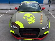 BB Folien Bele Bo%C5%A1tjan Audi A5 S5 Coupe Skull Neon Fluorescent Tuning Folierung 14 190x143 Neues Outfit   BB Folien Bele Boštjan Audi A5 S5 Skull Folierung