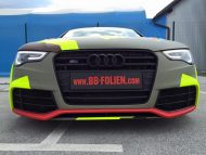BB Folien Bele Bo%C5%A1tjan Audi A5 S5 Coupe Skull Neon Fluorescent Tuning Folierung 15 190x143 Neues Outfit   BB Folien Bele Boštjan Audi A5 S5 Skull Folierung