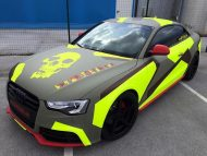 BB Folien Bele Bo%C5%A1tjan Audi A5 S5 Coupe Skull Neon Fluorescent Tuning Folierung 23 190x143 Neues Outfit   BB Folien Bele Boštjan Audi A5 S5 Skull Folierung
