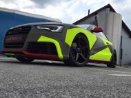 BB Folien Bele Bo%C5%A1tjan Audi A5 S5 Coupe Skull Neon Fluorescent Tuning Folierung 24 190x143 Neues Outfit   BB Folien Bele Boštjan Audi A5 S5 Skull Folierung