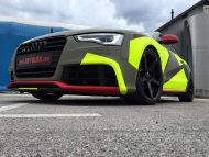BB Folien Bele Bo%C5%A1tjan Audi A5 S5 Coupe Skull Neon Fluorescent Tuning Folierung 25 190x143 Neues Outfit   BB Folien Bele Boštjan Audi A5 S5 Skull Folierung