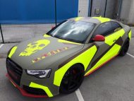 BB Folien Bele Bo%C5%A1tjan Audi A5 S5 Coupe Skull Neon Fluorescent Tuning Folierung 28 190x143 Neues Outfit   BB Folien Bele Boštjan Audi A5 S5 Skull Folierung