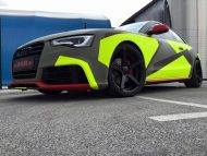 BB Folien Bele Bo%C5%A1tjan Audi A5 S5 Coupe Skull Neon Fluorescent Tuning Folierung 31 190x143 Neues Outfit   BB Folien Bele Boštjan Audi A5 S5 Skull Folierung