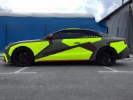 BB Folien Bele Bo%C5%A1tjan Audi A5 S5 Coupe Skull Neon Fluorescent Tuning Folierung 4 190x143 Neues Outfit   BB Folien Bele Boštjan Audi A5 S5 Skull Folierung
