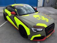 BB Folien Bele Bo%C5%A1tjan Audi A5 S5 Coupe Skull Neon Fluorescent Tuning Folierung 5 190x143 Neues Outfit   BB Folien Bele Boštjan Audi A5 S5 Skull Folierung