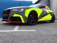 BB Folien Bele Bo%C5%A1tjan Audi A5 S5 Coupe Skull Neon Fluorescent Tuning Folierung 7 1 190x143 Neues Outfit   BB Folien Bele Boštjan Audi A5 S5 Skull Folierung