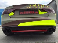 BB Folien Bele Bo%C5%A1tjan Audi A5 S5 Coupe Skull Neon Fluorescent Tuning Folierung 9 190x143 Neues Outfit   BB Folien Bele Boštjan Audi A5 S5 Skull Folierung