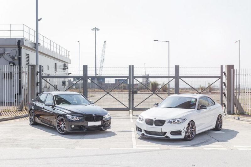 BMW 2er 220i 3er 320i mit Exotics Tuning Kit 1 Fotostory: BMW 2er 220i & 3er 320i mit Exotics Tuning Kit