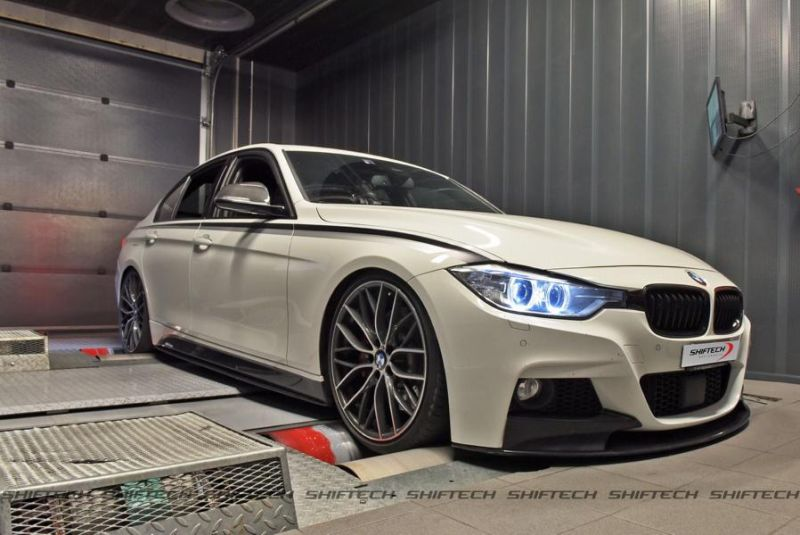 BMW 3er F30 335i 371PS 593NM Chiptuning Shiftech Lyon 1 BMW 3er F30 335i mit 371PS & 593NM by Shiftech Lyon
