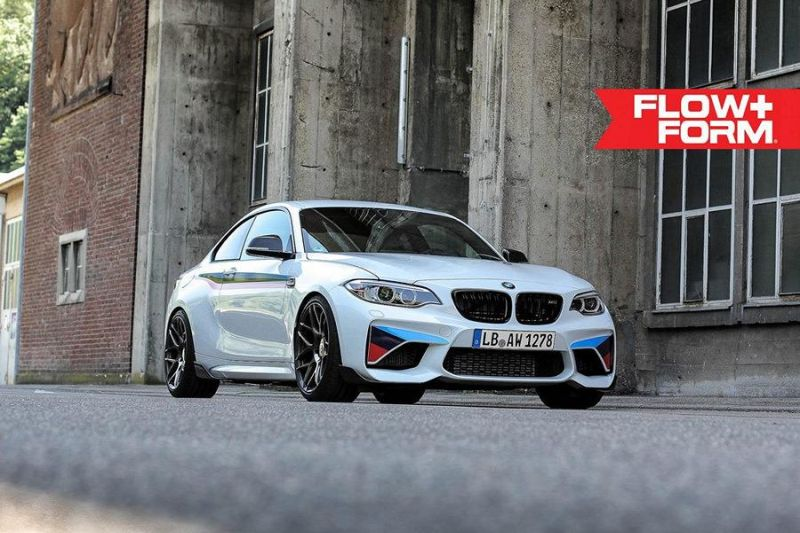 BMW M2 F87 19 Zoll HRE FF01 Tuning TVW Car Design 1 BMW M2 F87 auf 19 Zoll HRE FF01 Alu's by TVW Car Design