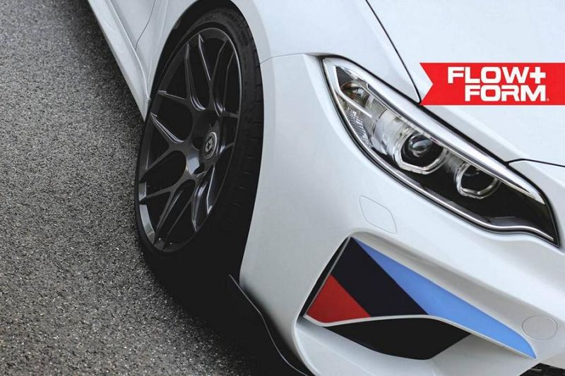 BMW M2 F87 19 Zoll HRE FF01 Tuning TVW Car Design 2 BMW M2 F87 auf 19 Zoll HRE FF01 Alu's by TVW Car Design