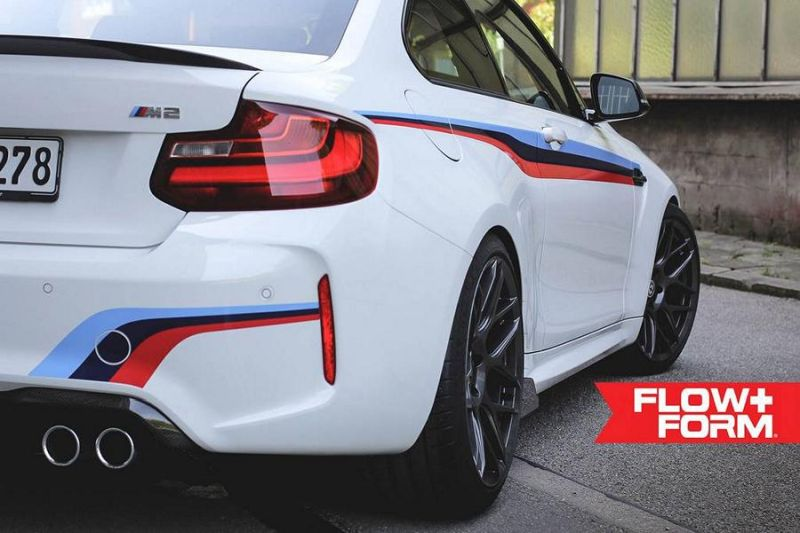 BMW M2 F87 19 Zoll HRE FF01 Tuning TVW Car Design 4 BMW M2 F87 auf 19 Zoll HRE FF01 Alu's by TVW Car Design