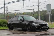 BMW M3 F80 20 Zoll WORK Wheels VS XX Tuning 1 190x127 Mega Optik   BMW M3 F80 auf 20 Zoll WORK Wheels Alufelgen