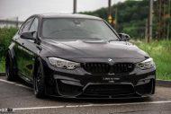 BMW M3 F80 20 Zoll WORK Wheels VS XX Tuning 2 190x127 Mega Optik   BMW M3 F80 auf 20 Zoll WORK Wheels Alufelgen