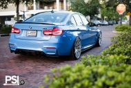 BMW M3 F80 Yas Marina Blau Blue Tuning PSI Precision Sport Industries 11 190x127 BMW M3 F80 in Yas Marina Blau by Precision Sport Industries