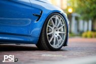 BMW M3 F80 Yas Marina Blau Blue Tuning PSI Precision Sport Industries 7 190x127 BMW M3 F80 in Yas Marina Blau by Precision Sport Industries