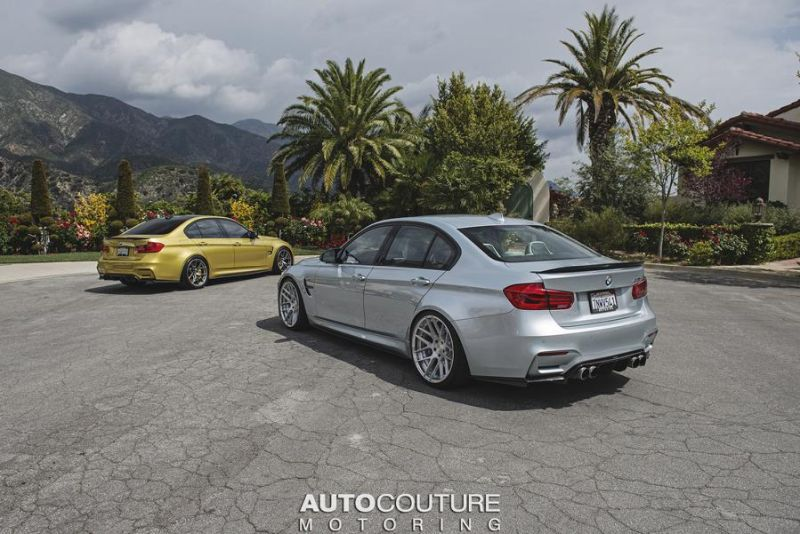 BMW M3 F80 by AUTOcouture Motoring Tuning 1 Fotostory: 2 x BMW M3 F80 by AUTOcouture Motoring