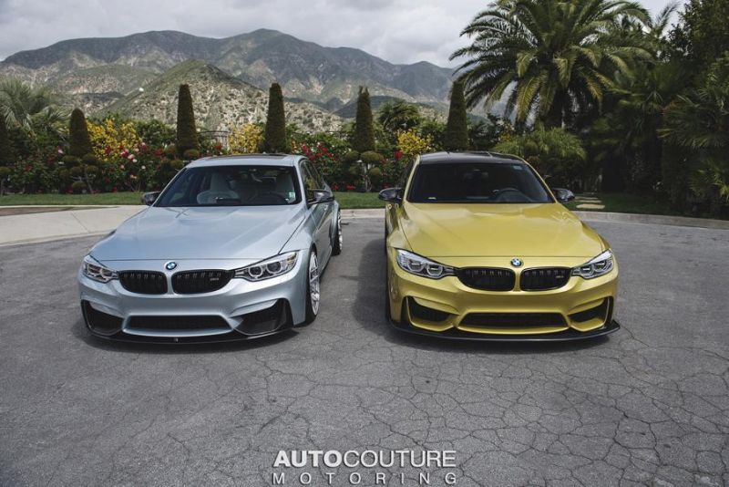BMW M3 F80 by AUTOcouture Motoring Tuning 8 Fotostory: 2 x BMW M3 F80 by AUTOcouture Motoring