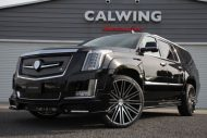 Calwing Body Kit 26 Zoll Forgiato Wheels Alufelgen Cadillac Escalade Tuning 4 190x127 Calwing Body Kit & 26 Zoll Alufelgen am Cadillac Escalade