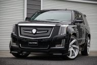 Calwing Body Kit 26 Zoll Forgiato Wheels Alufelgen Cadillac Escalade Tuning 6 190x127 Calwing Body Kit & 26 Zoll Alufelgen am Cadillac Escalade